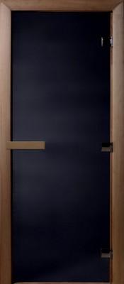Doorwood ЧЁРНЫЙ ЖЕМЧУГ Стеклянные двери для бани в Минске