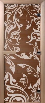 Doorwood ВЕНЕЦИЯ бронза Стеклянные двери для бани в Минске