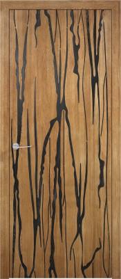 ПМЦ ART Дуб натуральный + Чёрная эмаль