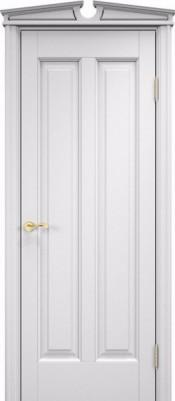 ПМЦ Ол.102 белая эмаль Двери из массива ольхи в Минске