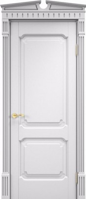 ПМЦ Ол.7/2 белая эмаль Двери из массива ольхи в Минске