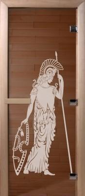 Doorwood РИМ бронза Стеклянные двери для бани в Минске