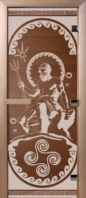 Doorwood ПОСЕЙДОН бронза Стеклянные двери для бани в Минске