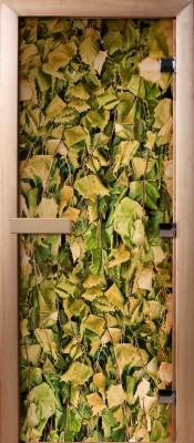 Doorwood А001 (фотопечать) Стеклянные двери для бани в Минске