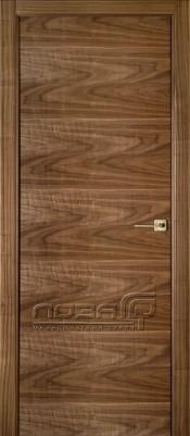 Межкомнатная дверь Лоза СТАНДАРТ H Лоза Стандарт H шпон ореха Шпонированные межкомнатные двери  в Минске