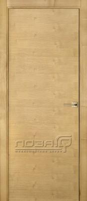 Лоза Стандарт H шпон ясеня Шпонированные межкомнатные двери  в Минске