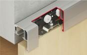 Hafele Slido Classic 40-P + доводчик раздвижные системы для деревянных дверей в Минске
