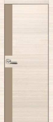 Межкомнатная дверь Владвери М23 Владвери М23 лиственница белая, стекло Капучино Владвери серия Modern в Минске