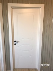 Межкомнатная дверь Stefany 3109 STEFANY 3109 белый Двери эмаль серия Stefany 3000 в Минске