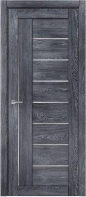 Межкомнатная дверь МДФ Техно DOMINIKA ШАЛЕ 521 DOMINIKA ШАЛЕ 521 дуб графит Двухстворчатые межкомнатные двери в Минске