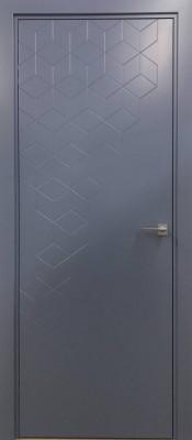 GEOMETRICO 03 Ral 5014 Новые модели дверей в Минске