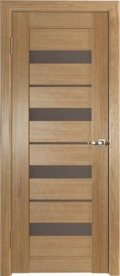 Межкомнатная дверь Исток КВАРТЕТ-4 Исток КВАРТЕТ-4 Каштан Шпонированные межкомнатные двери  в Минске