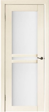 Межкомнатная дверь Исток ДУЭТ-3 Исток ДУЭТ-3 Слоновая кость Шпонированные межкомнатные двери  в Минске
