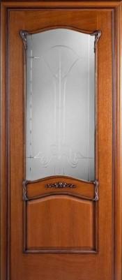 Гранд Модерн ЯНТАРЬ ПО шпонированные двери Гранд Модерн в Минске