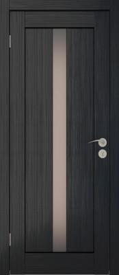 Межкомнатная дверь Исток ВЕРТИКАЛЬ-2 венге мелинга Двери Исток Дорс экошпон в Минске