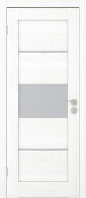 Межкомнатная дверь Исток ГОРИЗОНТАЛЬ-3 пломбир мелинга Двери Исток Дорс экошпон в Минске
