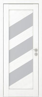 Диагональ-2 пломбир мелинга Современные межкомнатные двери в Минске