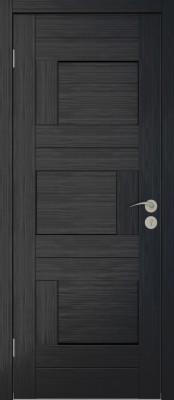 Межкомнатная дверь Исток ДОМИНО-1 венге мелинга Двери Исток Дорс экошпон в Минске