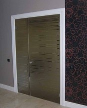 Межкомнатная стеклянная дверь AKMA ГРАЦИЯ  Стеклянные двери AKMA серия Illusion в Минске