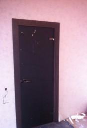 Межкомнатная стеклянная дверь AKMA АВРОРА Аврора, стекло матовое серое (АКМА) Стеклянные двери AKMA серия Illusion в Минске