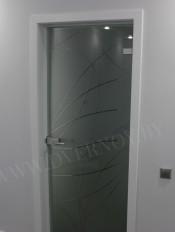Аврора (АКМА) матовое бесцветное стекло
