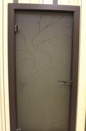 Межкомнатная стеклянная дверь AKMA ЭЛЬВИРА  Стеклянные двери AKMA серия Illusion в Минске