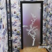 АКМА Сакура, матовое бесцветное стекло