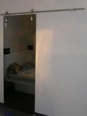 Межкомнатная стеклянная дверь AKMA САБИНА  Стеклянные двери AKMA серия Illusion в Минске