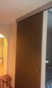 Межкомнатная стеклянная дверь AKMA ДИАНА Диана, стекло матовая бронза (АКМА) Стеклянные двери AKMA серия Illusion в Минске