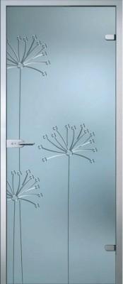 Стеклянные двери AKMA серия Flowers в Минске