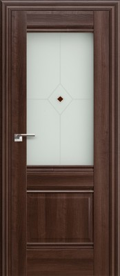 Межкомнатная дверь Profil Doors 2X 2x орех сиена Двери Профиль Дорс в Минске в Минске