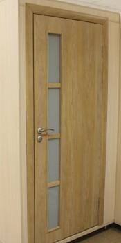 Межкомнатная дверь  МДФ Техно Инфинти 4.3.2 Инфинити 4.3.2 дуб ардеж Двери МДФ с ПВХ покрытием в Минске