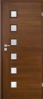 Инфинити 4.1 венге Двери МДФ с ПВХ покрытием в Минске