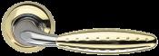 Дверная ручка Armadillo Dorado золото/никель Дверные ручки Armadillo в Минске