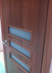 Межкомнатная дверь  МДФ Техно Домино 7.2  Двери МДФ с ПВХ покрытием в Минске