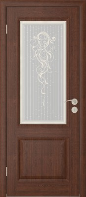 Межкомнатная дверь  Исток Бергамо-2 Бергамо коньяк Межкомнатные двери в Минске в Минске