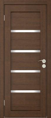Межкомнатная дверь  Исток Квартет каштан Шпонированные межкомнатные двери  в Минске