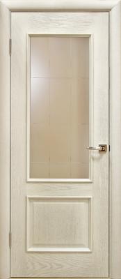 Лоза Верона Д белая патина Деревянные межкомнатные двери в Минске