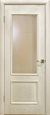 Лоза Верона Д белая патина Двери Лоза в Минске