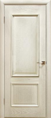 Лоза Верона Д ПГ белая патина Деревянные межкомнатные двери в Минске