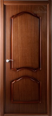 Межкомнатная дверь  Belwooddoors Каролина ПГ Каролина орех Шпонированные межкомнатные двери  в Минске