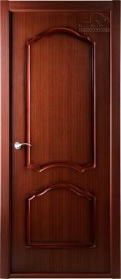 Каролина красное дерево Шпонированные межкомнатные двери  в Минске