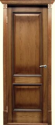 Версаль орех патина (Халес) Шпонированные двери Халес в Минске