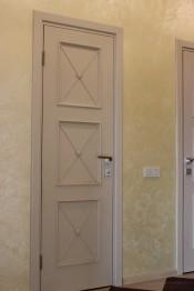 Двери Лоза Карл-3, цвет Ваниль