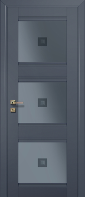 Межкомнатная дверь Profil Doors 4U Profil Doors 4U антрацит Двери Профиль Дорс серии U в Минске