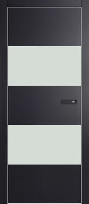 Межкомнатная дверь Profil Doors 2VG Profil Doors 2VG матовый черный Двери Профиль Дорс серии VG в Минске