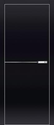 Межкомнатная дверь Profil Doors 4VG Profil Doors 4VG черный глянец Двери Профиль Дорс серии VG в Минске