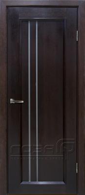 СОНАТА-4 венге (ЛОЗА) Шпонированные межкомнатные двери  в Минске