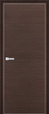 Межкомнатная дверь Profil Doors 1D 1D венге браш Двери Профиль Дорс серии D в Минске
