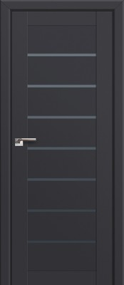 Межкомнатная дверь Profil Doors 71U Profil Doors 71U антрацит Двери Профиль Дорс серии U в Минске
